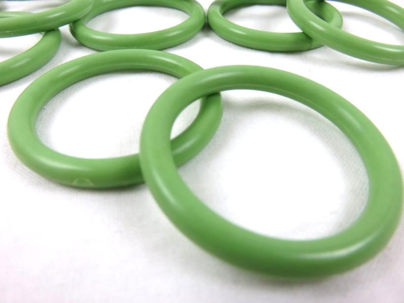 S366 Ring plast 34 mm grön