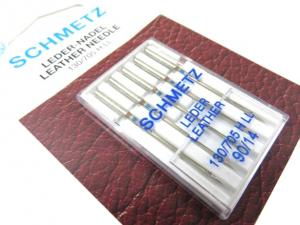 S372 Leather Machine Needles Size 90 (5 pcs)