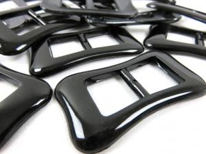 Plastic bar slider 14 mm black