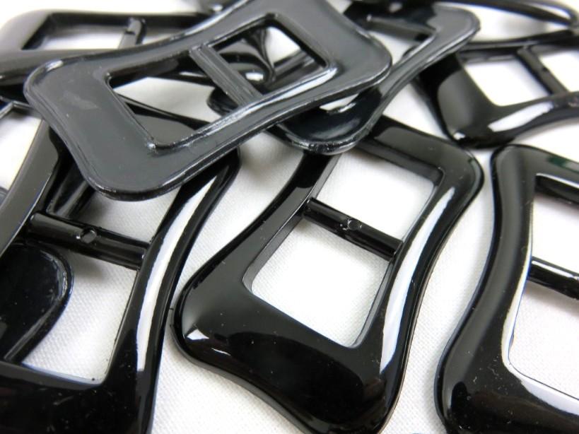 Plastspänne 14 mm svart