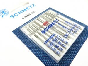 S404 Sewing Machine Needles Combi Box (9 pcs)