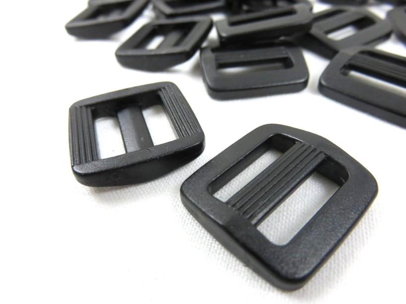 Spännare 16 mm svart