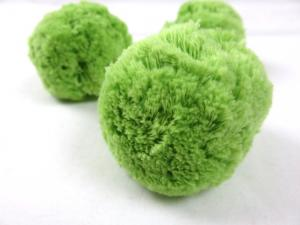 S413 Pom Pom 7 cm apple green