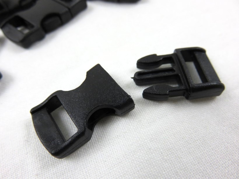 Klickspänne 10 mm svart