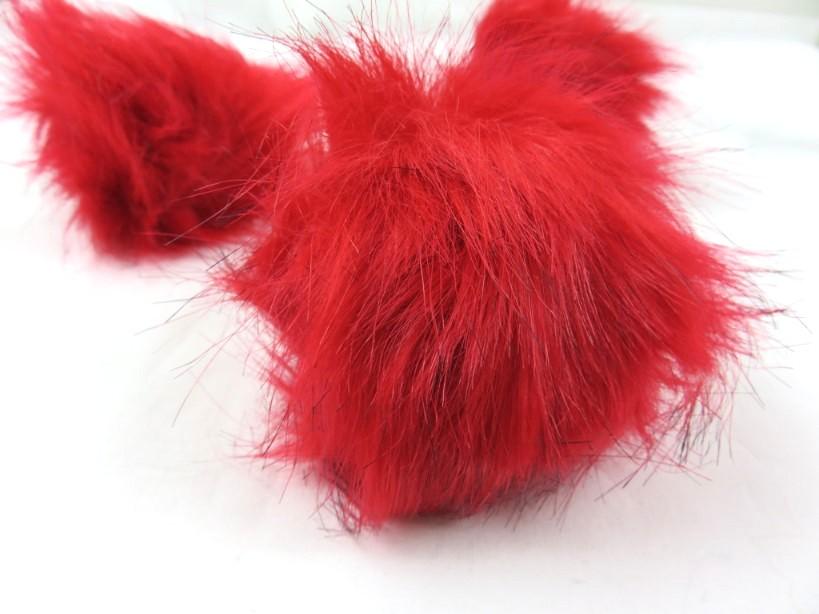S416 Pom Pom 10 cm röd