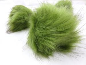 S416 Pom Pom 10 cm grön