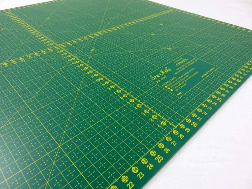 Skärmatta grön 60 x 45 cm