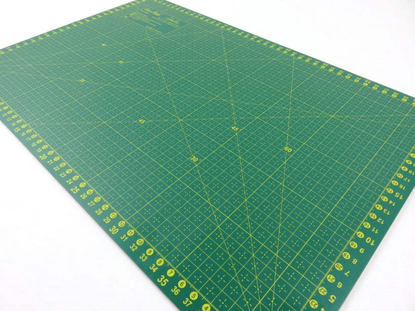 Skärmatta 45 x 30 cm grön