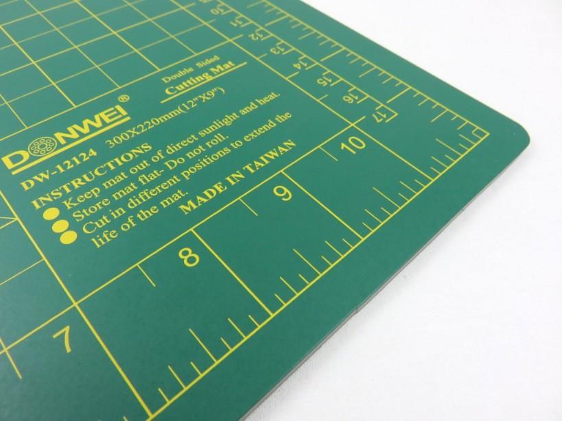 Skärmatta 30 x 22 cm grön