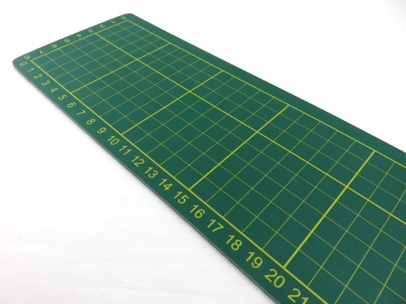 Cutting Mat 38 x 10 cm green