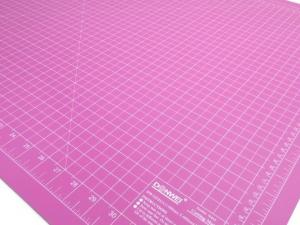 Cutting Mat 90 x 60 cm pink/purple