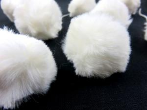 S463 Pom Pom 4 cm vintervit