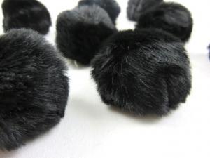 S463 Pom Pom 4 cm black