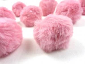 S463 Pom Pom 4 cm light pink