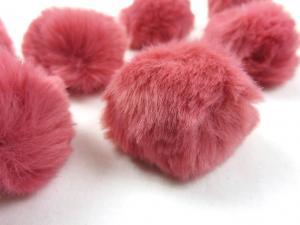 S463 Pom Pom 4 cm medium pink