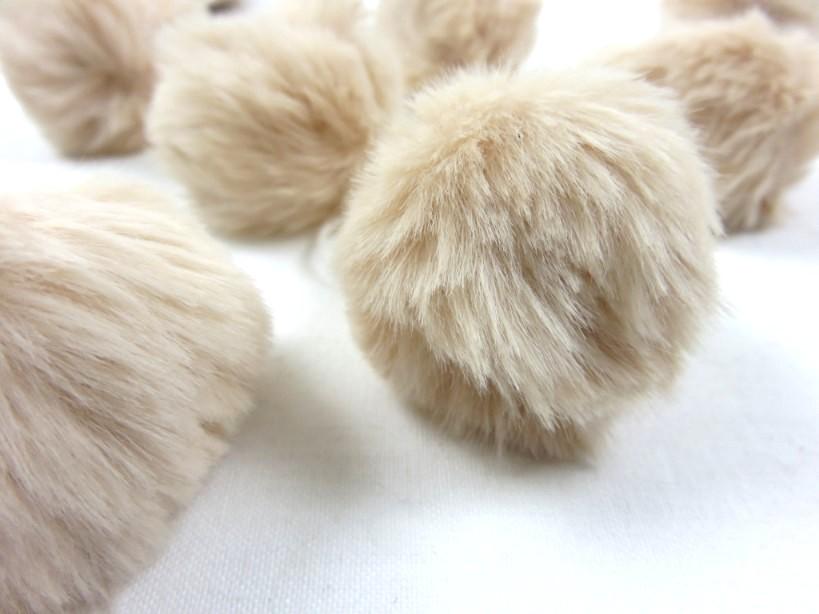 S463 Pom Pom 4 cm beige