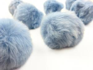 S463 Pom Pom 4 cm light blue
