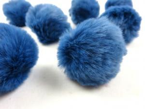 S463 Pom Pom 4 cm mellanblå