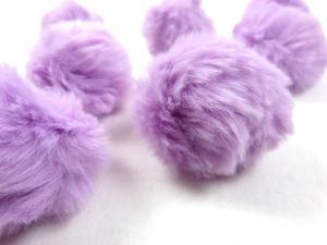 S463 Pom Pom 4 cm light purple