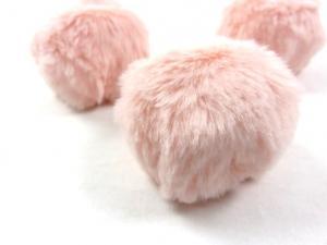 S463 Pom Pom 6 cm aprikos