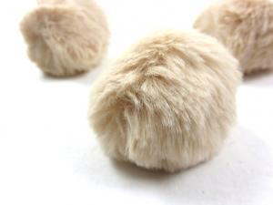 S463 Pom Pom 6 cm beige