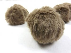 S463 Pom Pom 6 cm light brown