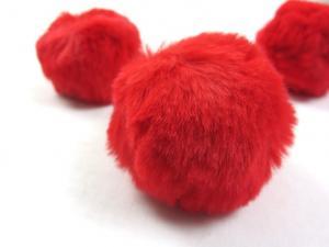 S463 Pom Pom 6 cm red