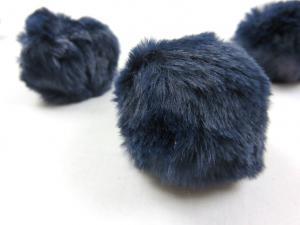 S463 Pom Pom 6 cm dark blue