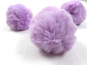 S463 Pom Pom 6 cm light purple
