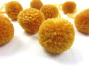 S464 Pom Pom 3 cm gul