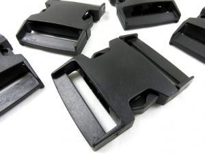 Klickspänne 60 mm svart