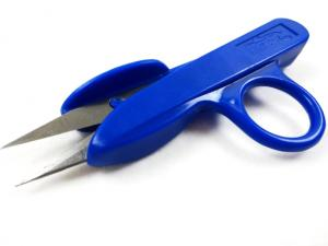 Plastic Thread Snippers 12 cm blue