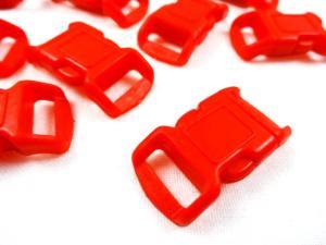 Klickspänne 10 mm röd