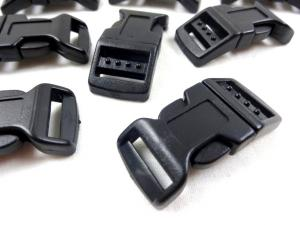 Klickspänne 17 mm svart