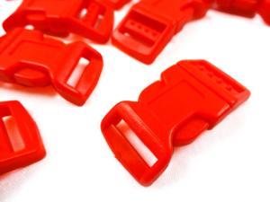 Klickspänne 17 mm röd