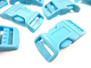 Klickspänne 17 mm blå