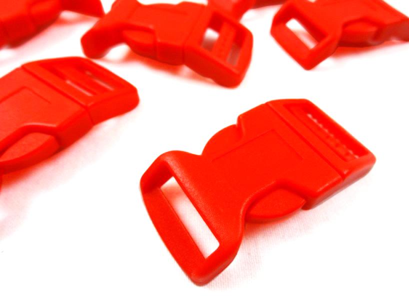 Klickspänne 20 mm röd