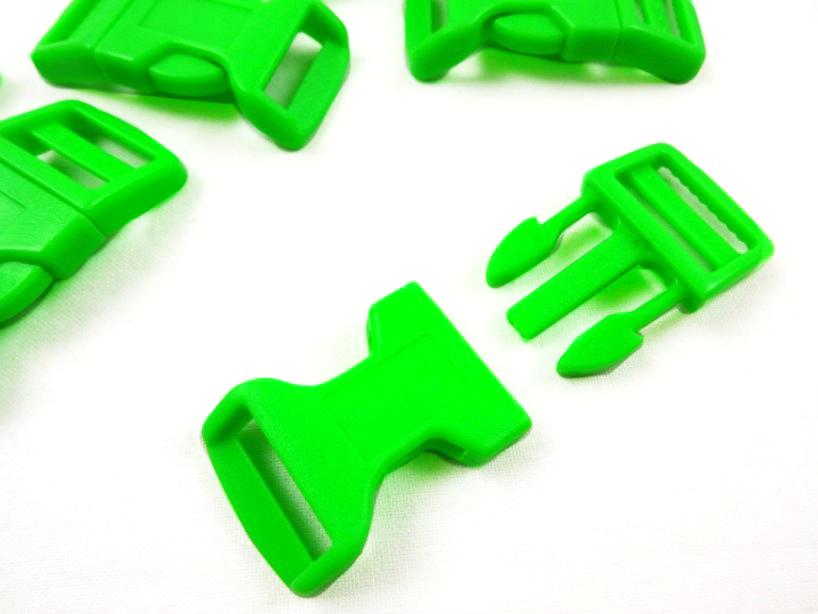 Klickspänne 20 mm grön