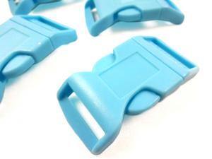 Klickspänne 25 mm blå
