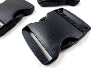Klickspänne frosttåligt 50 mm svart