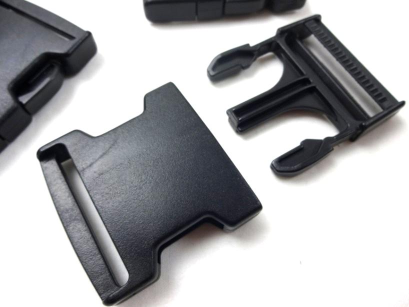 Klickspänne 50 mm svart