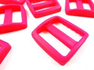 Plastic tri glide 25 mm fuchsia