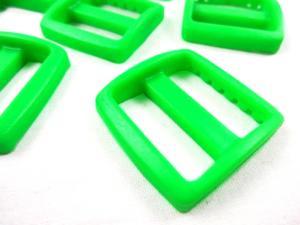 Plastic tri glide 25 mm green