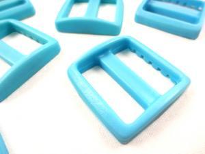 Plastic tri glide 25 mm blue