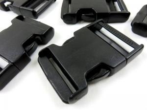 Side buckle release 50 mm black