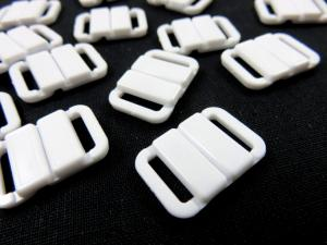 S513 Plastic Clasp 9 mm white
