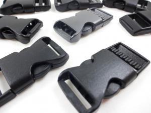 S531 Klickspänne 16 mm svart