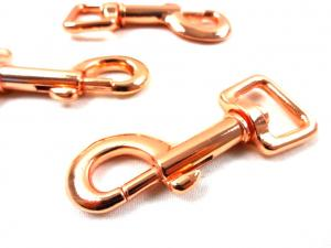 S548 Snap Hook 17 mm rose gold