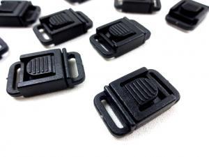 S581 Säkerhetsspänne 10 mm svart