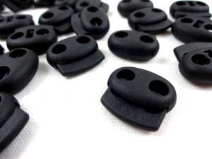 S603 Snörlås Dubbel 3 mm svart